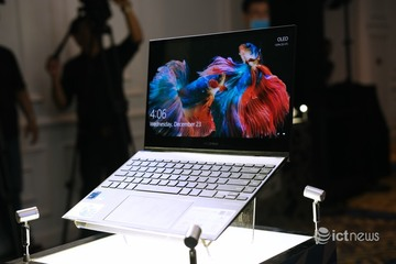 Asus giới thiệu laptop gập xoay, màn hình OLED