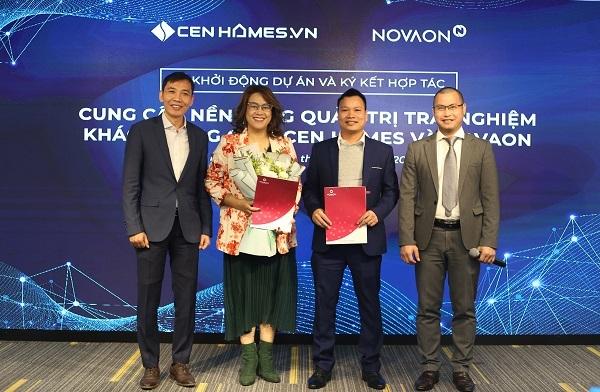 NOVAON cung cấp giải pháp Quản trị trải nghiệm khách hàng cho Cen Homes