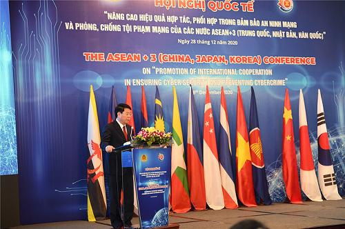 Nâng cao hiệu quả phối hợp đảm bảo an ninh mạng trong ASEAN+3