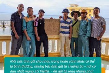 Đằng sau bức ảnh động viên Đà Nẵng chiến thắng Covid gửi từ Trường Sa