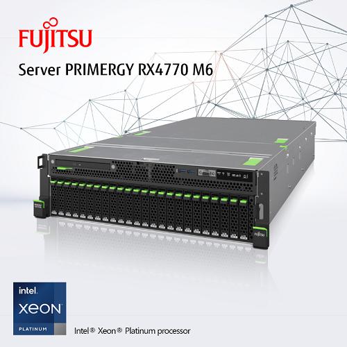 Thích nghi trong Thời đại số cùng máy chủ Fujitsu PRIMERGY RX4770 M6