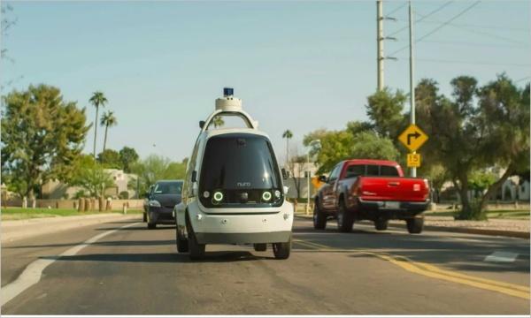 Ô tô giao hàng tự lái sẽ bắt đầu hoạt động tại California vào năm 2021