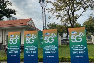 Viettel cung cấp dịch vụ 5G tại thành phố Thủ Đức
