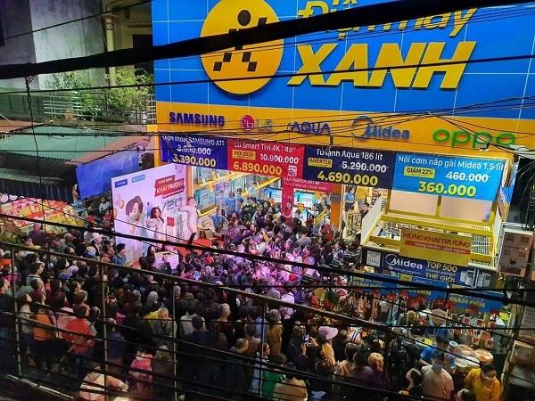Thế Giới Di Động 'ngoạn mục' đi qua đại dịch Covid, mở rộng 'thần tốc': 6 tháng 300 shop Điện máy Xanh supermini và 50 Bluetronics tại Campuchia