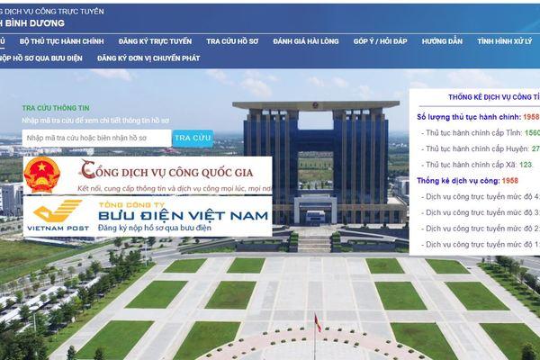 Vietcombank mở cổng thanh toán trực tuyến trên Cổng Dịch vụ công Bình Dương