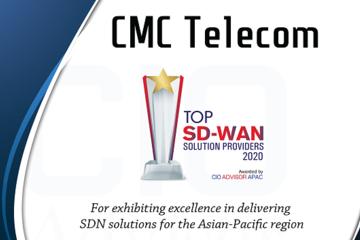 CMC Telecom lọt TOP 10 nhà cung cấp SD-WAN khu vực châu Á Thái Bình Dương