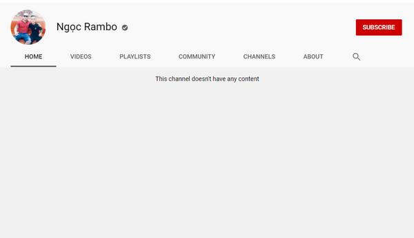 """Ngọc """"Rambo"""" và nhiều kênh giang hồ mạng vẫn được YouTube 'bảo kê'"""