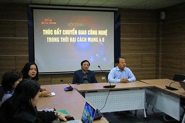 Tổ chức Hội thảo thúc đẩy chuyển giao công nghệ trong Cách mạng 4.0
