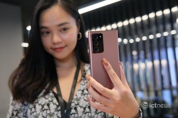 Galaxy Note20 chiến thắng tại Tech Awards 2020