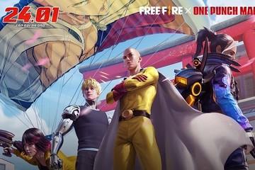 """""""Thử Thách Anh Hùng"""" dành cho người chơi Free Fire thông qua lần hợp tác mới nhất với One-Punch Man"""
