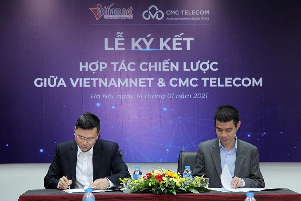 CMC,VietNamnet,ký kết