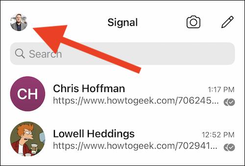 Hướng dẫn tắt chỉ dấu đã xem tin nhắn trên Signal