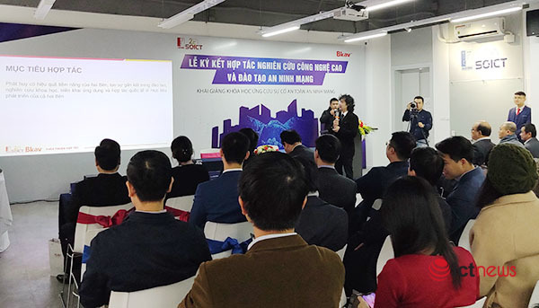 Cooperated in building the first Digital Security Academy in Vietnam