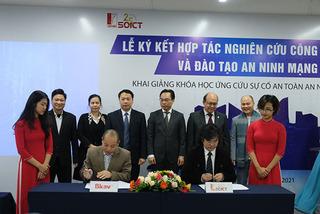 Hợp tác xây dựng Học viện An ninh không gian số đầu tiên tại Việt Nam