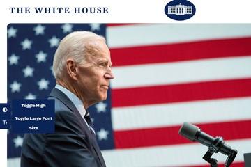 Website Nhà Trắng nâng cấp nhân ngày ông Biden nhậm chức, đăng tuyển nhân tài trong mã HTML