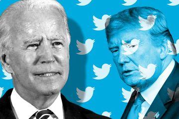 Cuộc chuyển giao quyền lực trên mạng xã hội của TT Trump và Biden