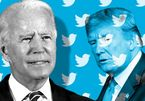 The handover of power on the social networks of President Trump and Biden