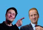 """CEO Volkswagen """"tuyên chiến"""" với Elon Musk"""