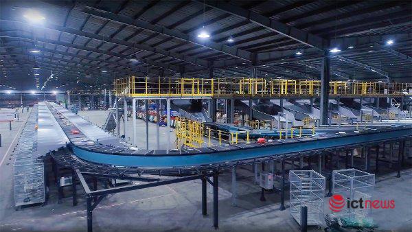 Khai trương Trung tâm Logistics tự động 'Make in Vietnam' giúp tiết kiệm 91% nhân lực