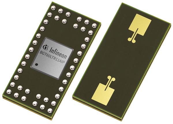 Cảm biến rađa hoàn toàn tự động đầu tiên của Infineon