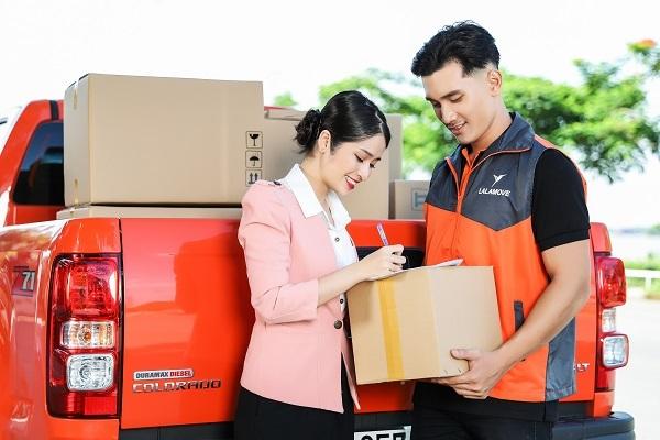 Lalamove cung cấp dịch vụ giao hàng đột phá bằng xe tải