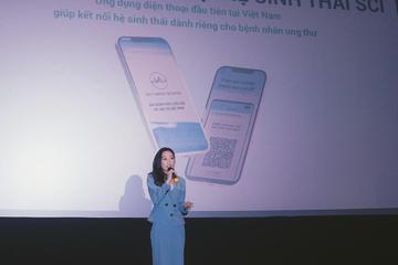 Ứng dụng di động giúp kết nối hệ sinh thái bệnh nhân ung thư tại Việt Nam