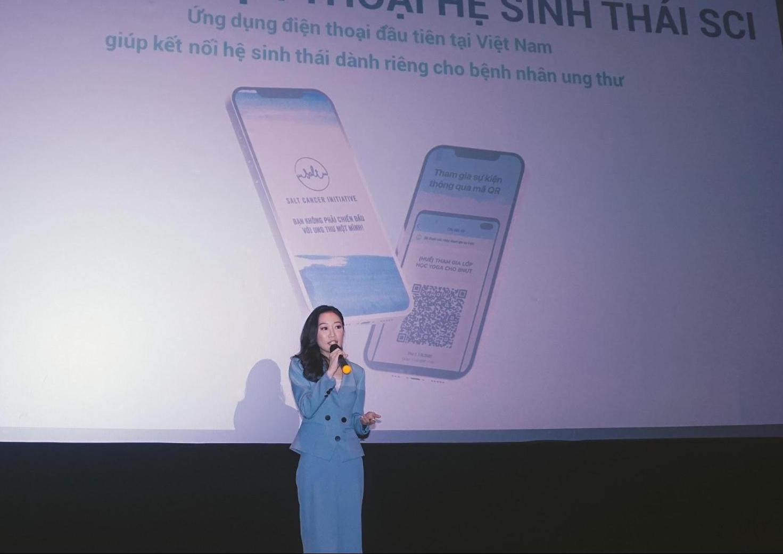 Ứng dụng di động giúp kết nối hệ sinh thái bênh nhân ung thư tại Việt Nam