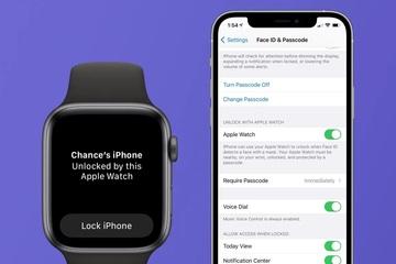Người dùng iPhone có thể mở khóa bằng Apple Watch
