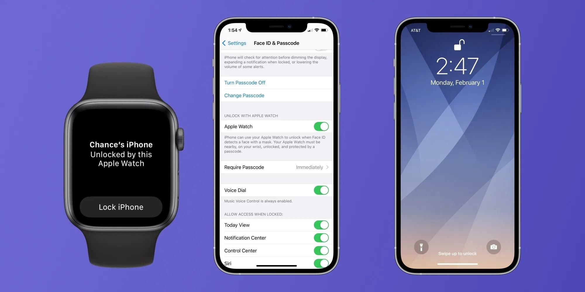 iOS 14.5,iOS 14,iPhone,Apple Watch,mở khóa