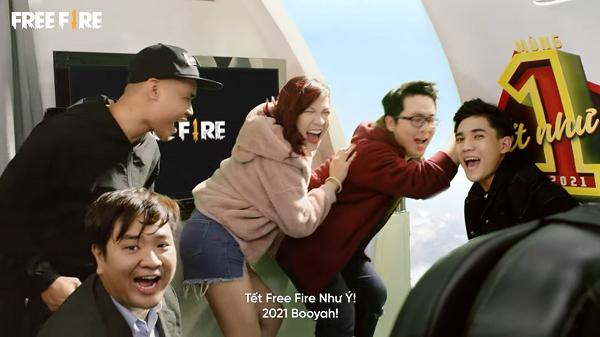 Hàng loạt streamer triệu subs góp mặt trong clip Nhìn lại năm 2020 của Free Fire!!!