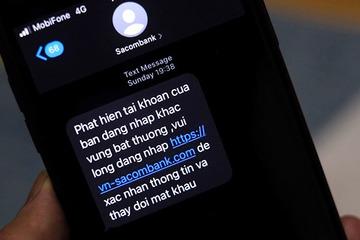 Cảnh báo phương thức dùng BTS giả mạo phát tán tin nhắn lừa người dùng ngân hàng