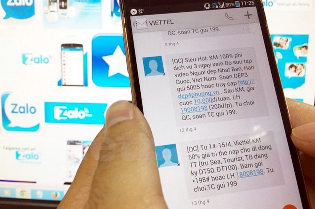 Hà Nội phạt 1 doanh nghiệp vì nhắn tin quảng cáo khi chưa được khách hàng đồng ý