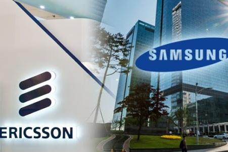 """Ericsson và Samsung """"đại chiến"""" vì bằng sáng chế thiết bị mạng 5G"""