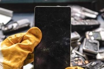 100 triệu chiếc smartphone cũ lọc được 120 kg vàng