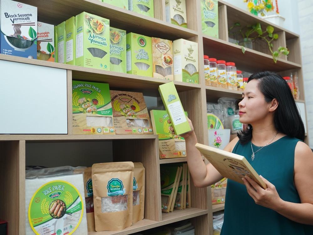 Doanh nhân nữ mang sản phẩm Make in Vietnam ra toàn cầu