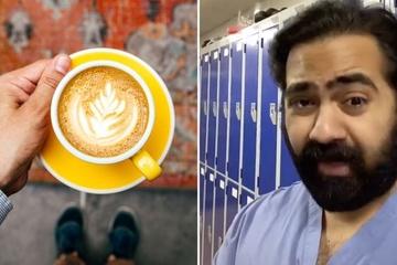 Mạng xã hội Anh xôn xao vì video 'mỗi ly cà phê đều có gián xay'