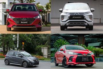 """Top xe bán chạy: VinFast Fadil lần đầu giữ """"ngôi vương"""", Toyota Vios gần cuối bảng"""