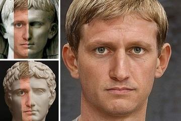 Dùng AI phục dựng chân dung các vị hoàng đế La Mã