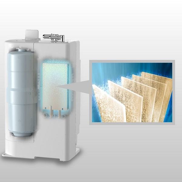 Máy lọc nước ion kiềm Panasonic TK-AB50 thiết kế thời thượng đột phá thị trường