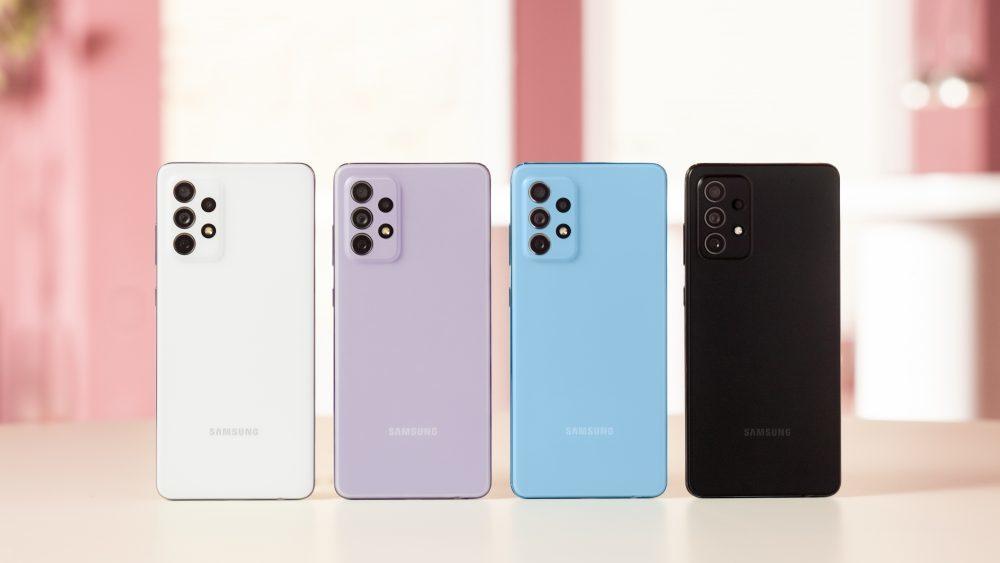 Samsung giới thiệu dòng A52, A72 mới, giá từ 9,3 triệu đồng