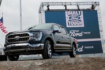 Ford lắp ráp xe trong cảnh thiếu thốn linh kiện
