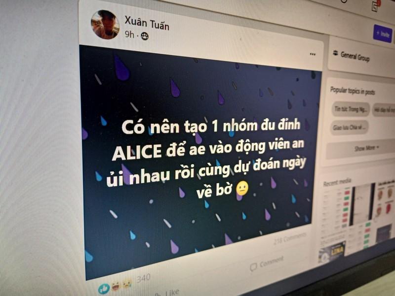 Người Việt đổ xô đu đỉnh tiền ảo Alice