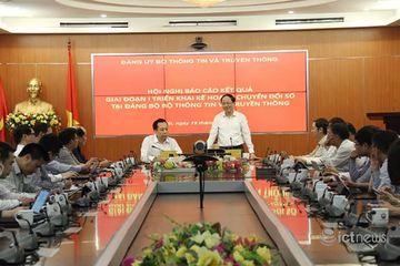 Đảng bộ Bộ TT&TT chính thức chuyển sang sử dụng văn bản điện tử