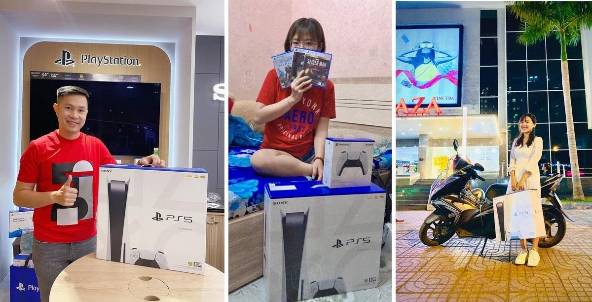 Người hào hứng khoe máy, kẻ bán gấp PS5 trong đêm