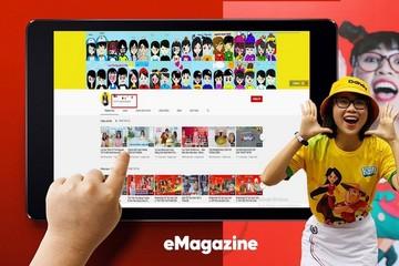 Từ Thơ Nguyễn đến Ryan Kaji, mỏ vàng nội dung trẻ em trên YouTube