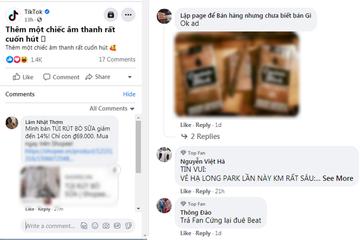Bán hàng online lại gây ám ảnh người dùng Facebook