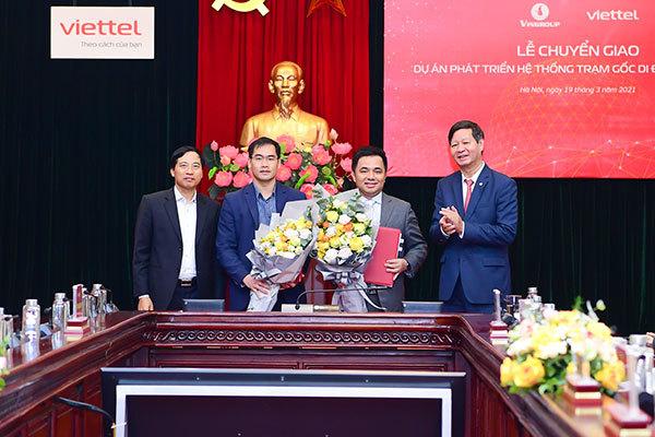 Vingroup chuyển giao dự án sản xuất thiết bị viễn thông 5G sang Viettel