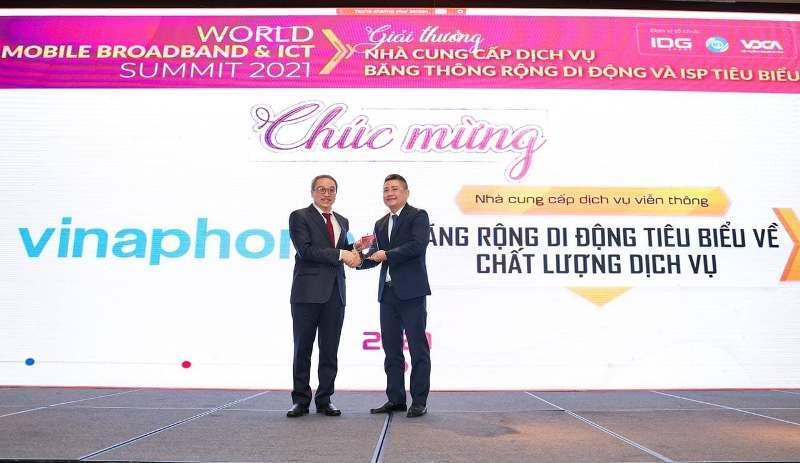 VinaPhone là đơn vị tiêu biểu về Chất lượng Dịch vụ băng thông rộng di động tại Việt Nam