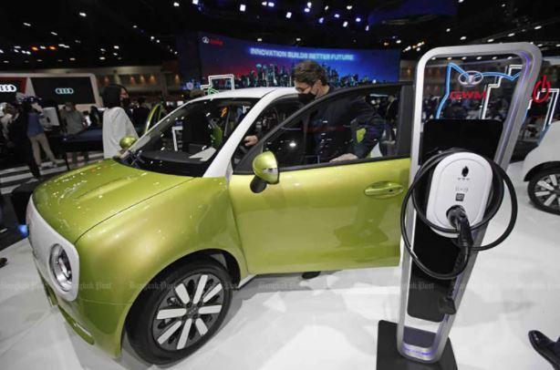 Tất cả xe điện được bán ra tại Thái Lan phải được sản xuất trong nước
