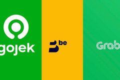 Grab - be - Gojek giữ thế 'chân kiềng', ứng dụng mới khó chen chân